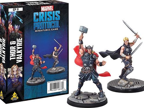 Marvel Crisis Protocol - Thor and Valkyrie Expansion