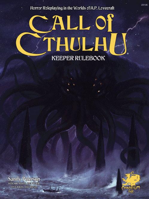 Call of Cthulhu Keeper Rulebook Hardcover