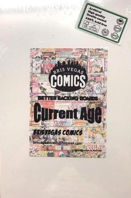 Current Size Comic Backing Boards - Better Backing Boards