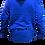 Thumbnail: Sudadera con cremallera azul