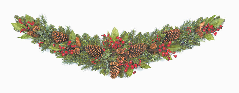 Decorated Garland