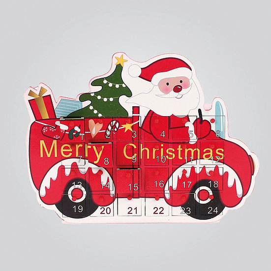 Advent Santa Car