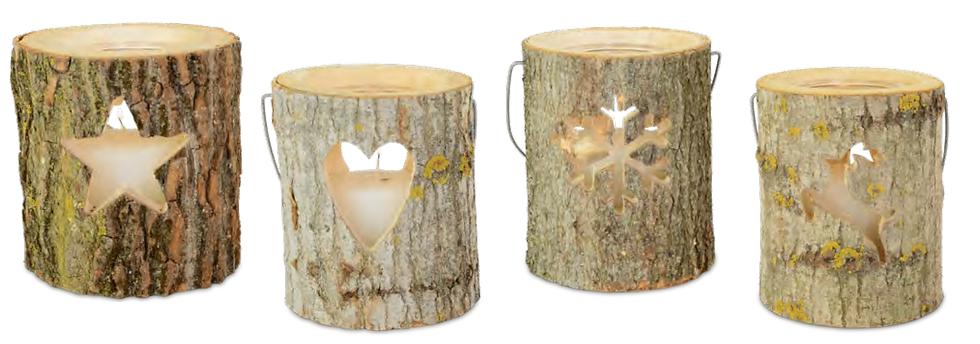 Wood Deco Lamp (Small)