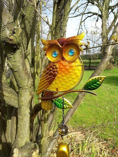 Owl Garden Bell