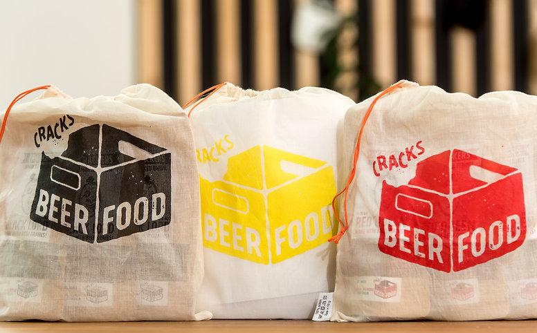 3 Packs Beerfood Pairing : Black, Yellow, Red
