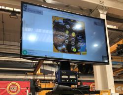 Operator Guidance on large screen