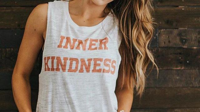 INNER KINDNESS VARSITY TANK
