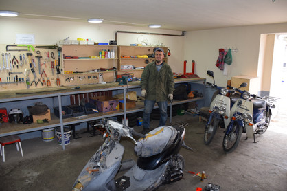 work shop self built