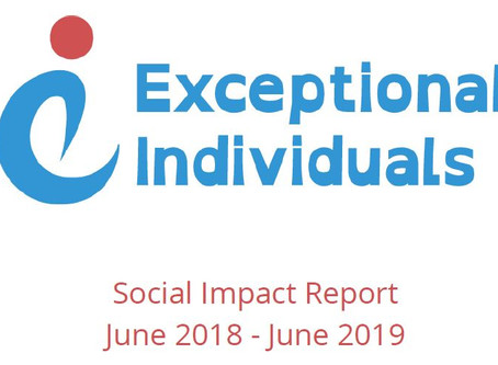 Exceptional Individuals Social Impact Report