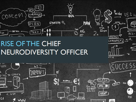 Rise of the Chief Neurodiversity Officer