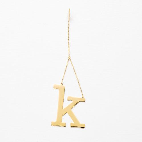 initial  ピアス・イヤリング k