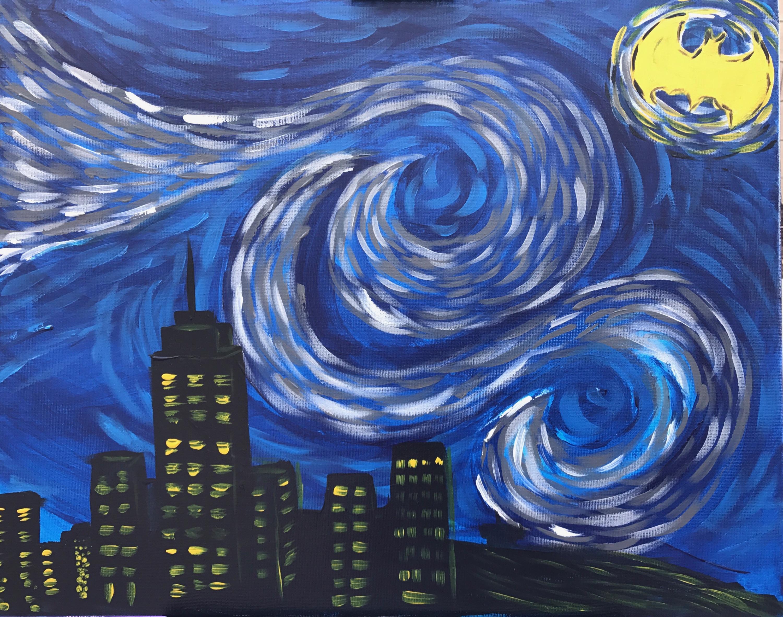 Starry Night- Batman