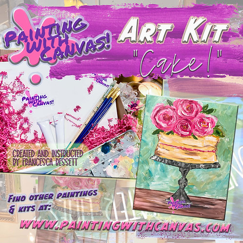 """Cake!"" 2-person Art Kit"