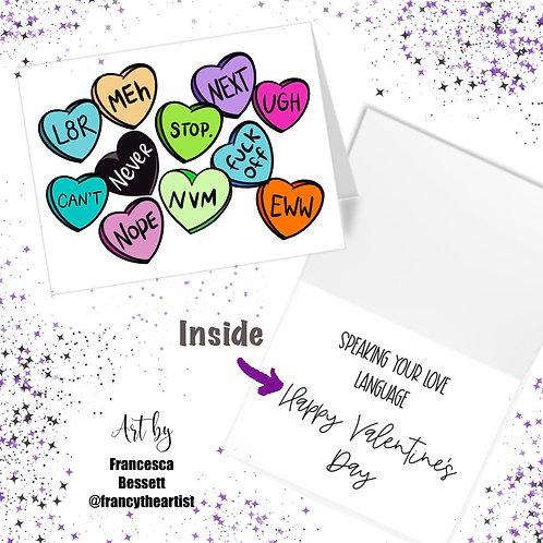 Sassy/Funny Valentine's Day Card