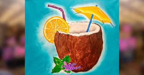 Orange in the Coconut