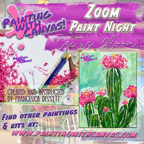 1/16 Zoom Paint Night! (2-Person or more)