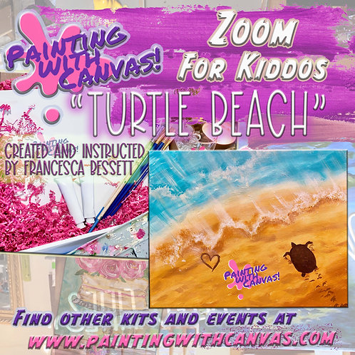 "1/18 (MLK Day) Kids Zoom ""Turtle Beach"" 1 PM"
