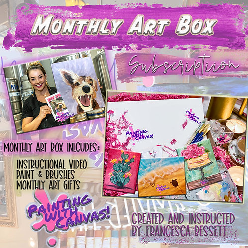 Monthly Art Box Subscription