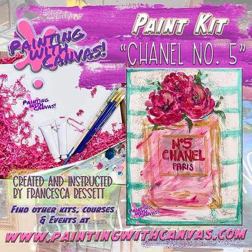"""""""Coco Chanel"""" Paint Kit for 2"""