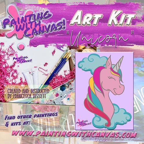 """Unicorn"" Art Kit 1 person"