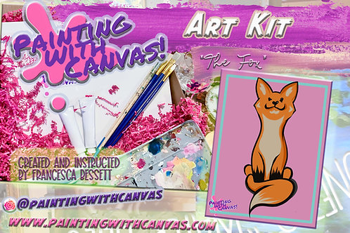 """""""The Fox"""" Art Kit for 1 (ages 3+)"""
