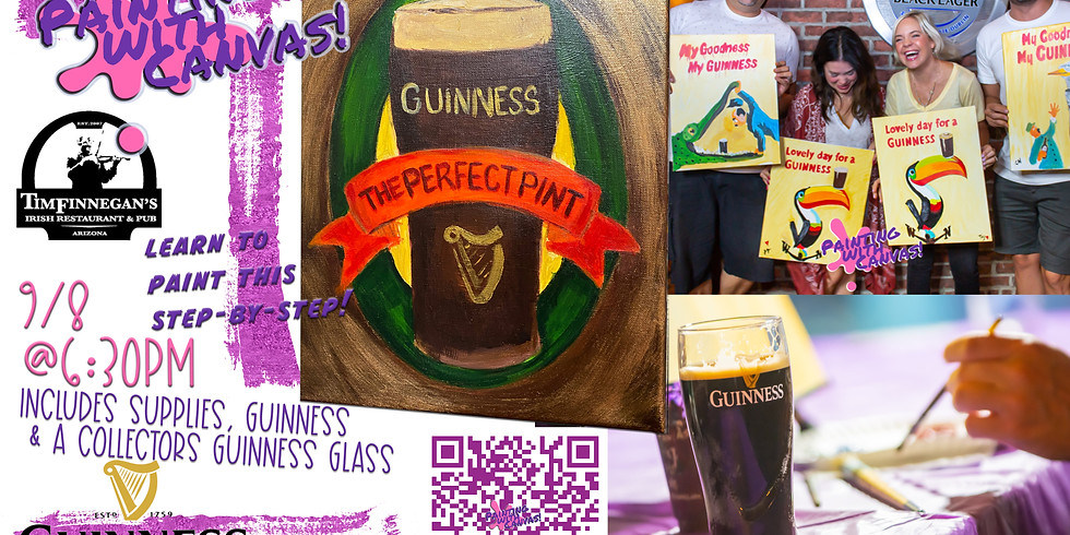 Painting with Guinness 🎨🍻