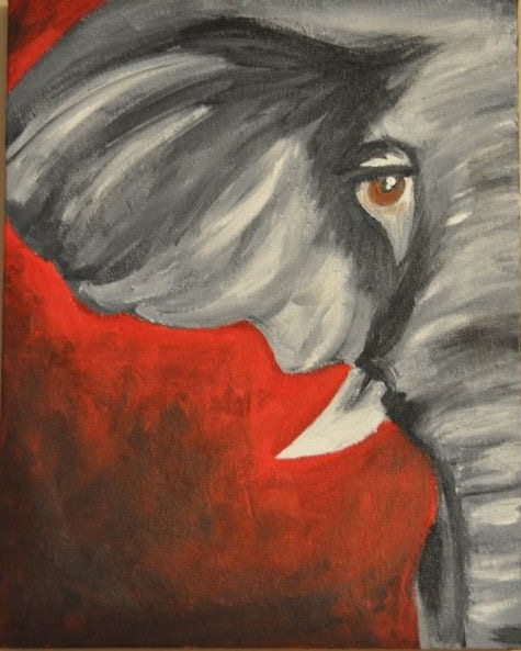 Elephant Red