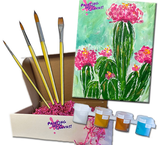 Cactus Bloom Painting Kit