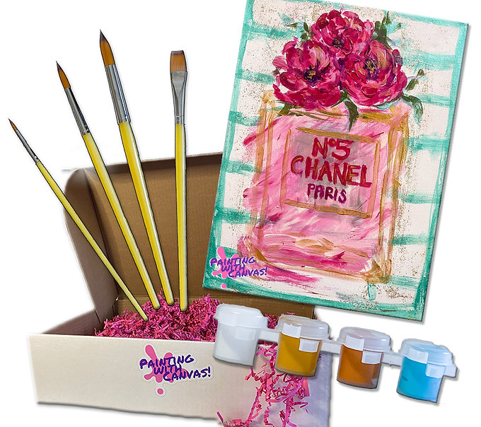 Coco Chanel Painting with Canvas Kit.jpg
