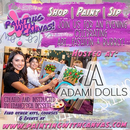 4/16 Paint Night @ADAMI DOLLS! 7 PM