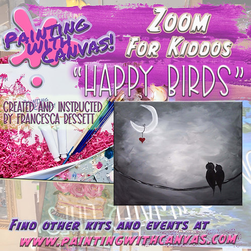 "1/17 Kids Zoom- ""Happy Birds"" 1 PM"
