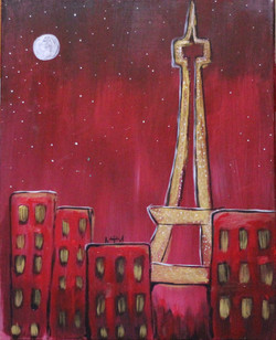 Romantic Eiffel.