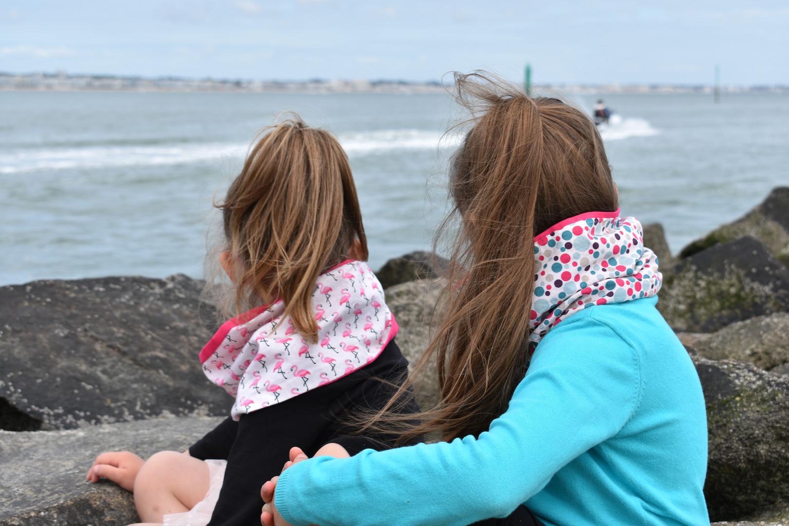 Tour de cou double enfant  _Les P'tites Chouquettes