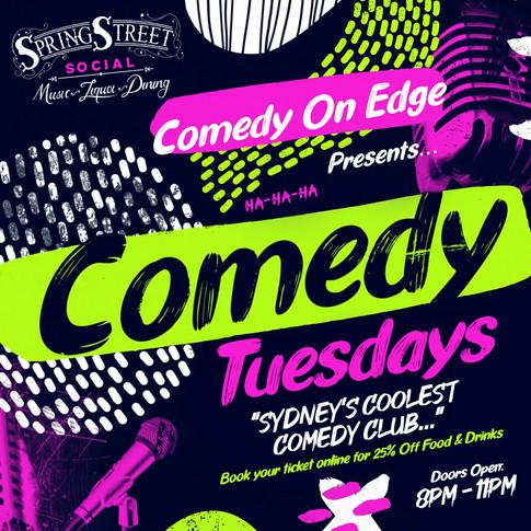 Bondi Comedy Tuesdays