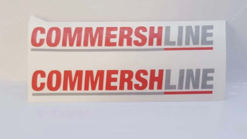 Commersh Veedubs Commershline mirror decals