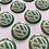 Thumbnail: VW 18mm diameter door lock covers/stickers