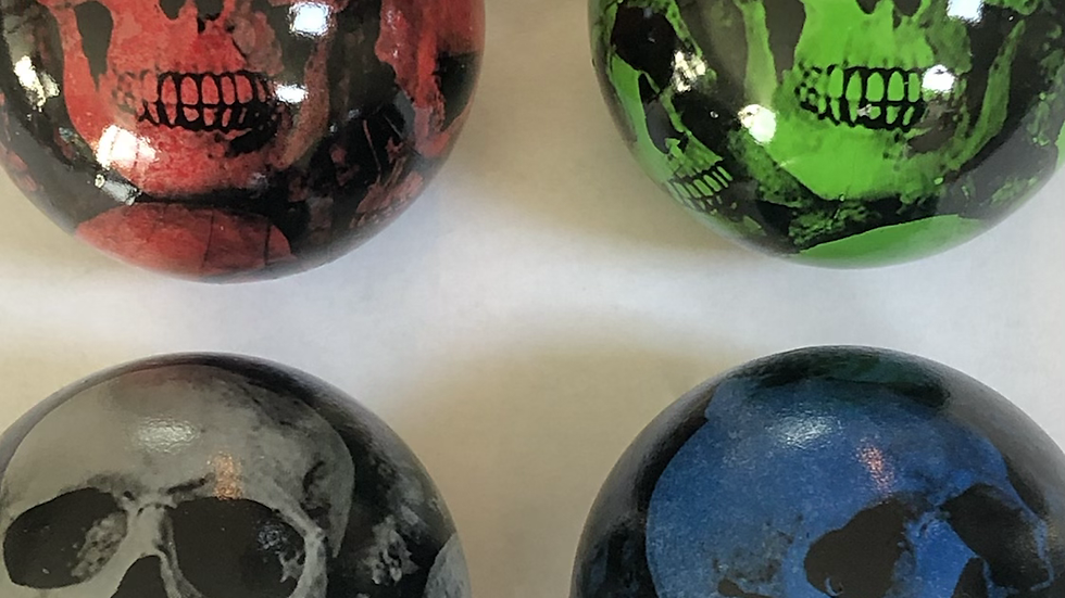 T5/T5.1/T6 Skull ball gear knobs