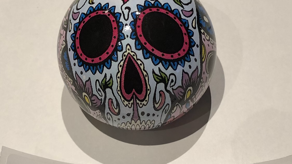 T5/T5.1/T6 Day of the dead ball gear knobs