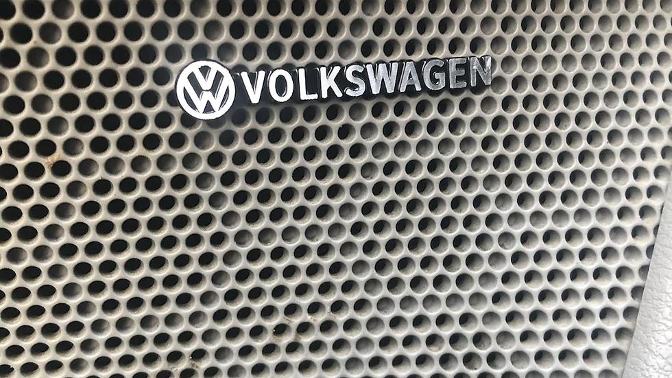 2x Volkswagen speaker badges