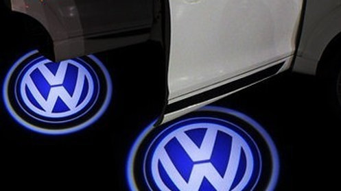 VW door puddle shadow projector lights