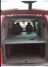 Volkswagen T5 Kombi folding bed system