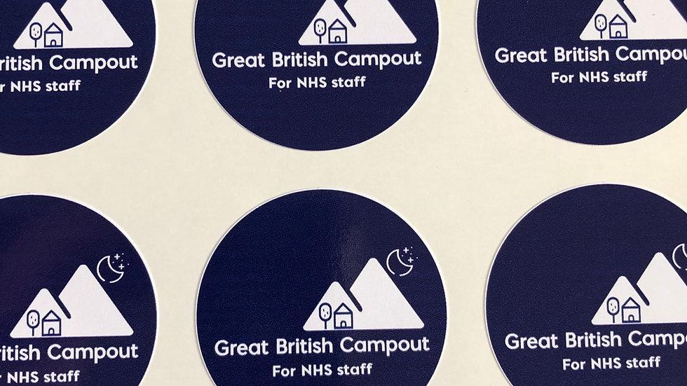 GBCO Round sticker x2