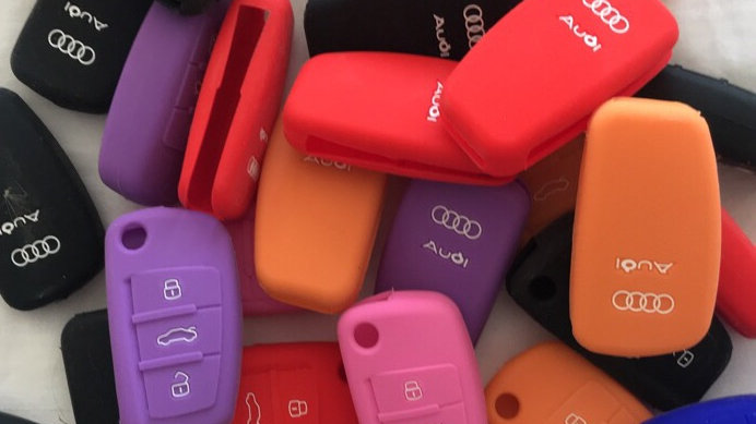 Audi Silicone Key cases