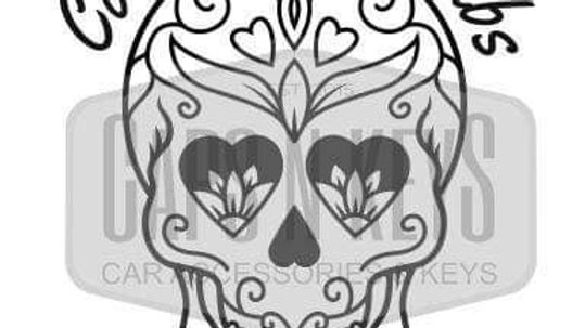 Commersh Veedubs Skull candy decal