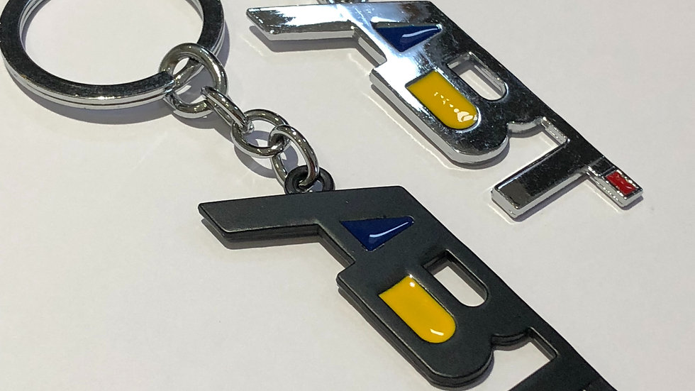 ABT Sportsline Keychain in black or chrome