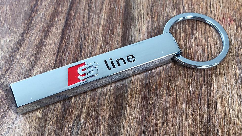 Audi S Line keyring