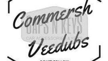 Commersh Veedubs Original decal