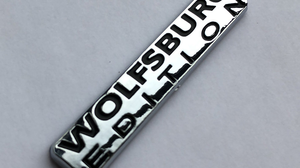 VW Wolfsburg Edition badge