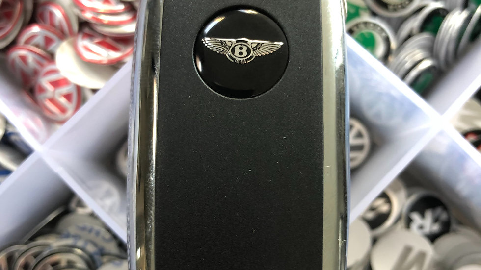 Bentley style key badge