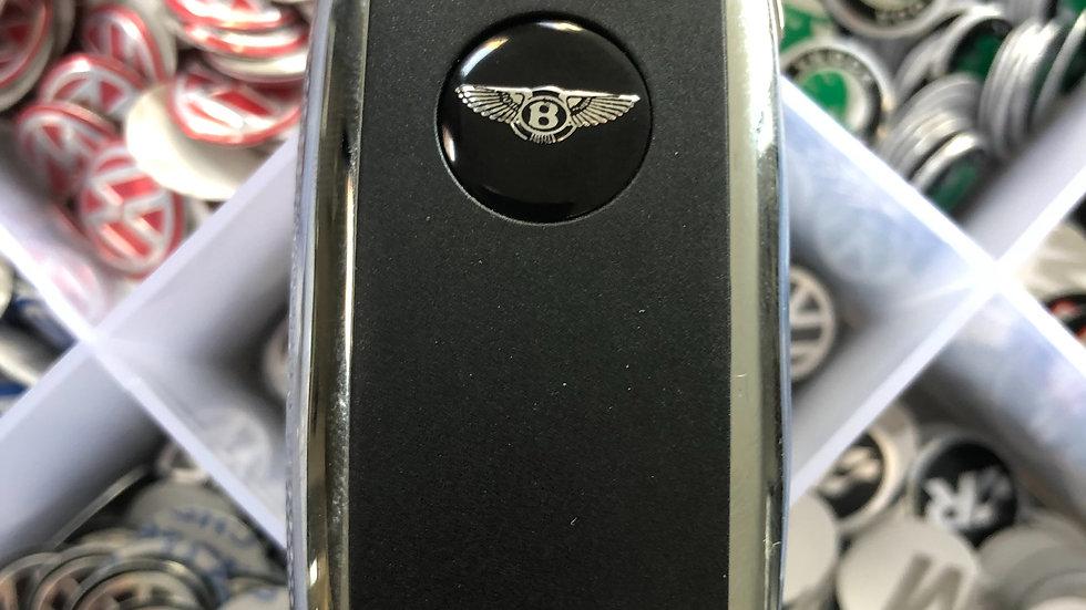 Bentley style key badge